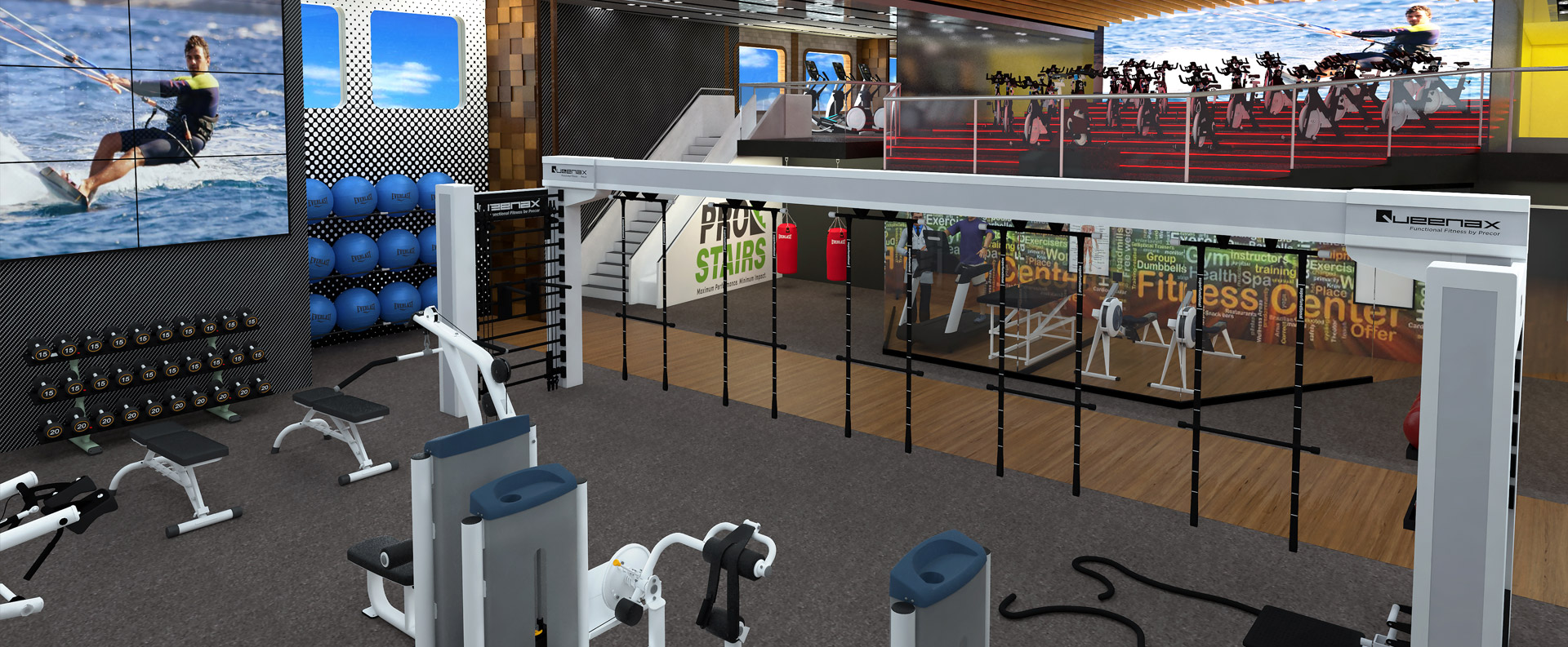 The largest functional training facility at sea